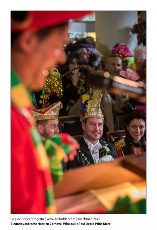 Sleuteloverdracht Heerlen Carnaval Winkbulle Paul Depla Prins Marc 1