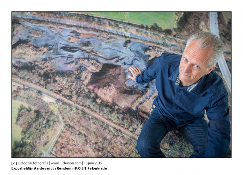 Expostie Mijn Aarde van Jos Reinders in P.O.S.T. te kerkrade. In het kader van het jaar van de mijnen maakte Jos deze serie.
