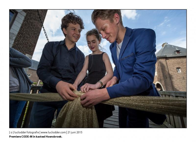 Premiere CODE-M in kasteel Hoensbroek.